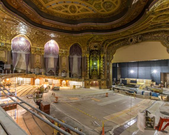 Loew's Kings Theatre – Construction Progress