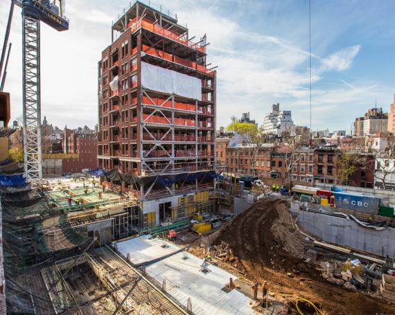 160 W 12th St – Construction Progress