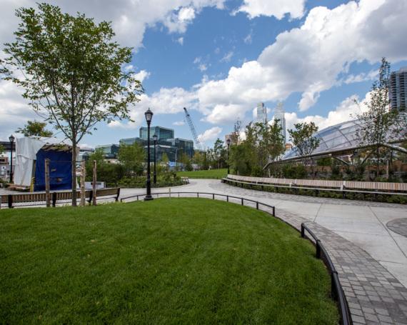 Hudson Park Blvd – Construction Progress
